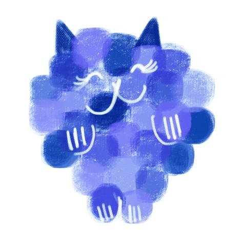 catberry blue