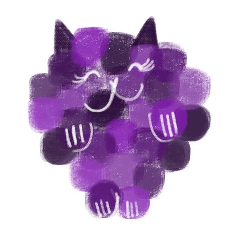 catberry purple
