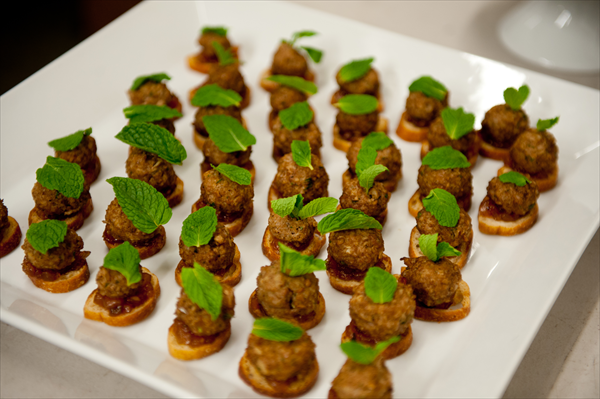 Lamb Meatballs with Apple Jalapeno Jam