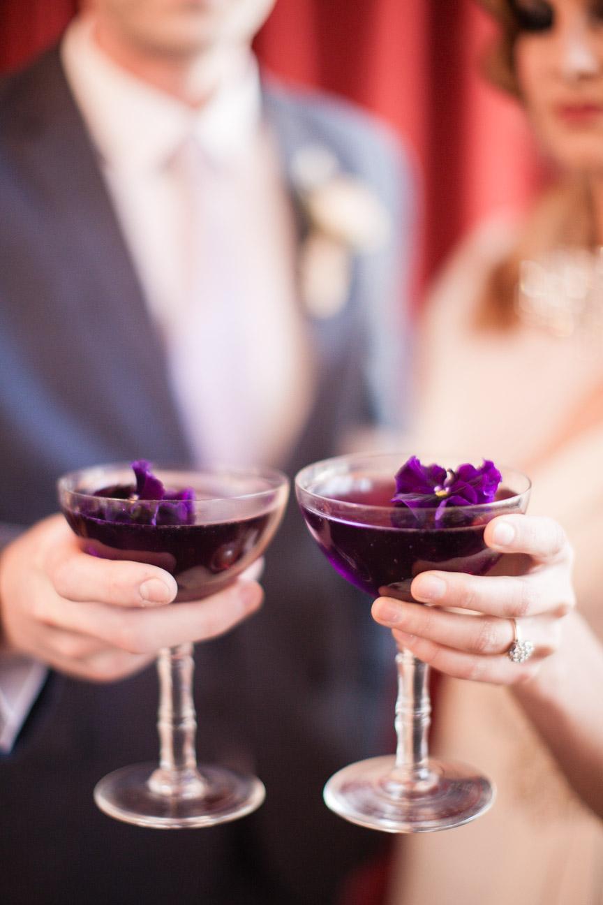Violet Kiss Cocktail