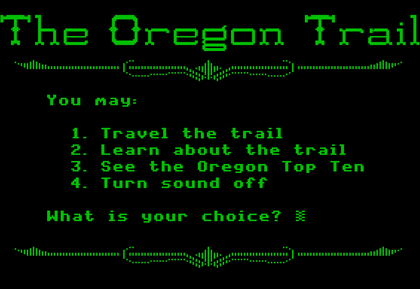 Westward Expansion: The Oregon Trail — The Daily Tofu