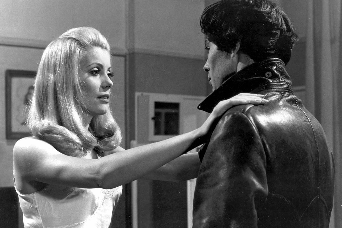 "Séverine Serizy  (Catherine Deneuve) and her husband Pierre (Jean Sorel) in  Belle de Jour ""Beauty of the Day"" (1967)"