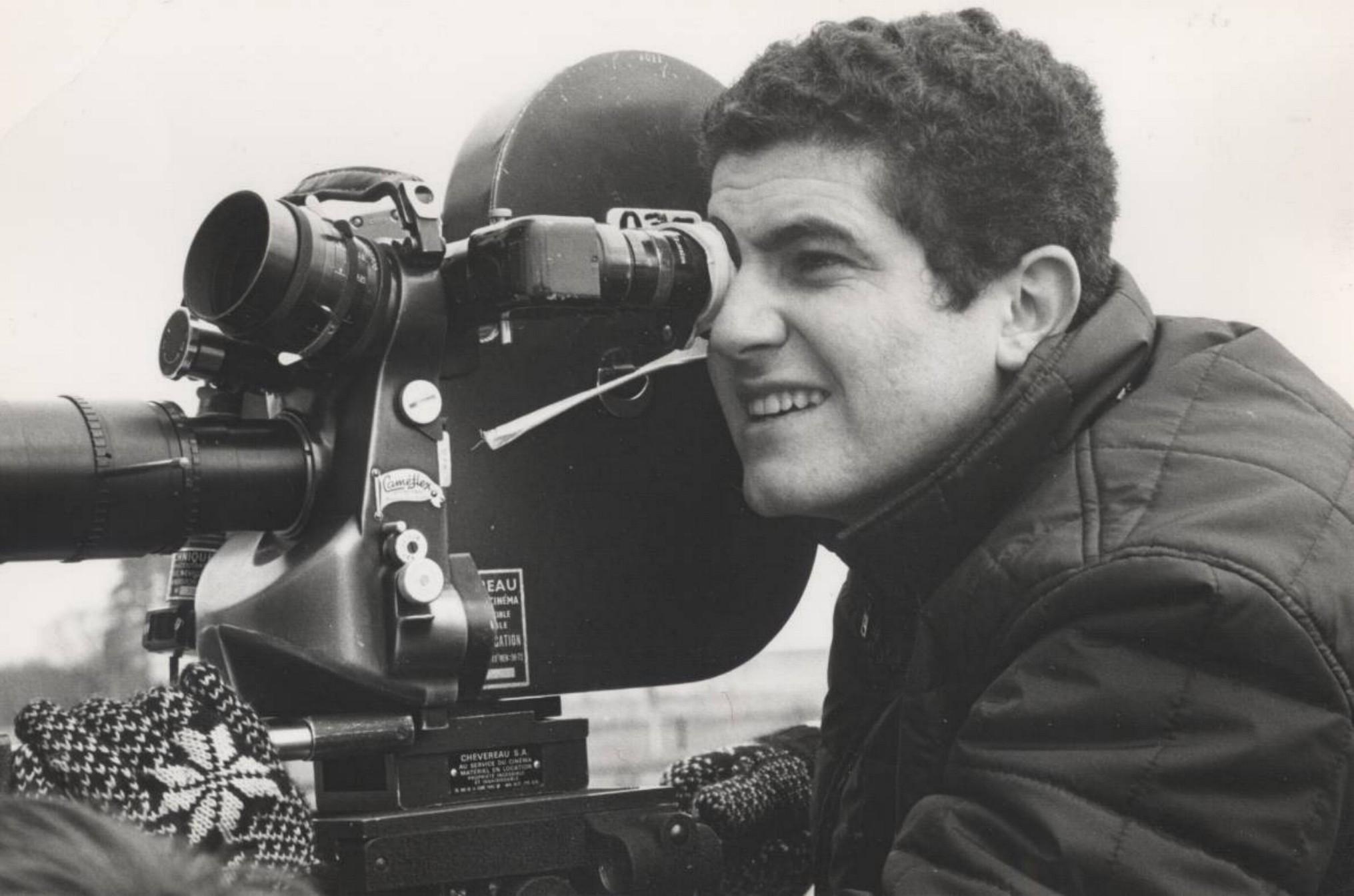 Les Films 13:Claude Lelouch shooting with a Caméflex camera