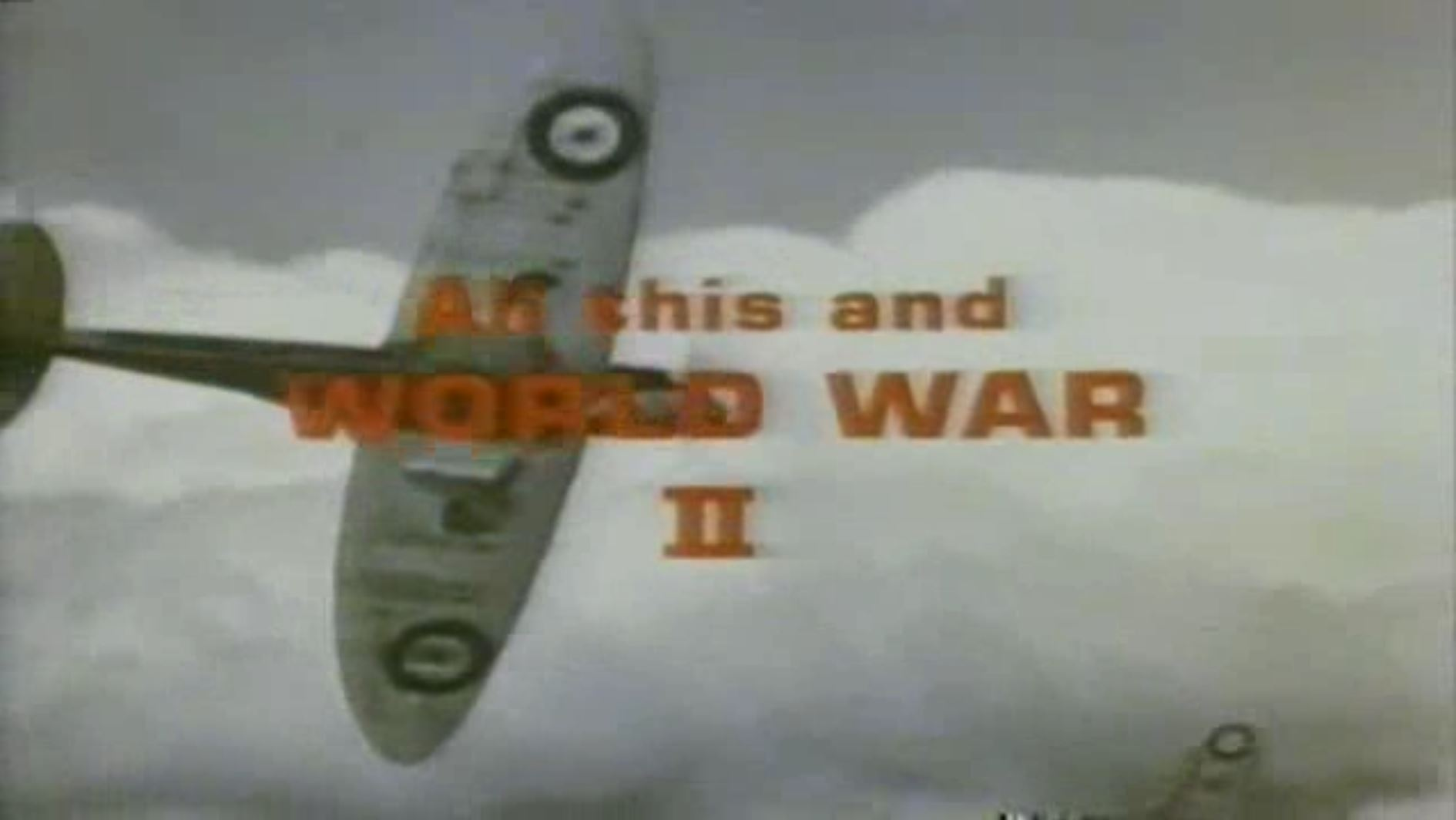 Opening screen from the movie  All This and World War II  (1976)