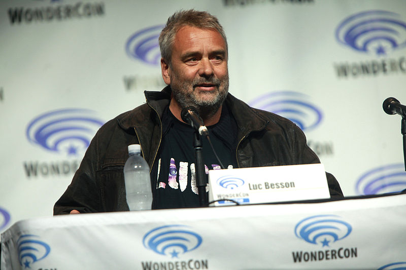 Luc Besson at Wondercon. Photo credit: Gage Skidmore