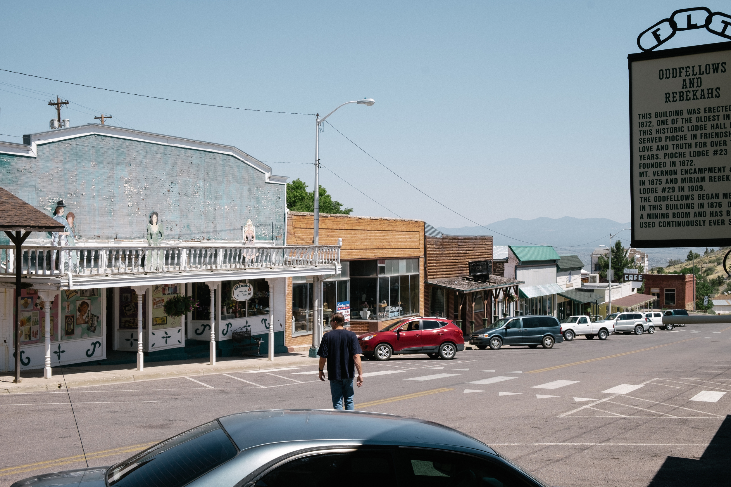 A look at the downtown strip, as a man who grew up in town explores his roots.