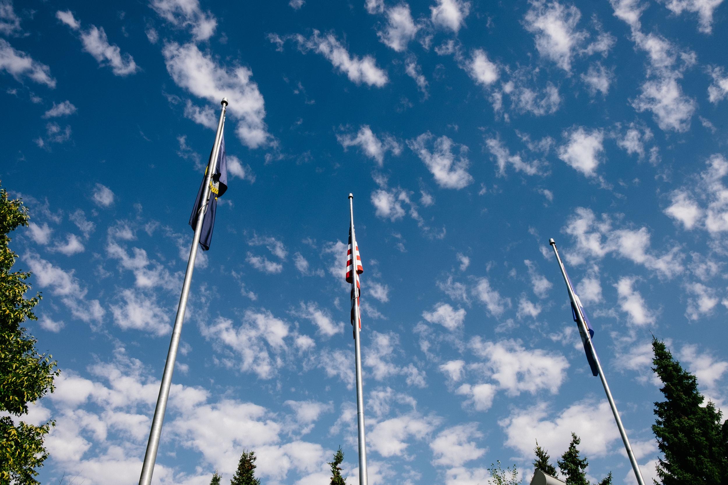 The Boise sky.