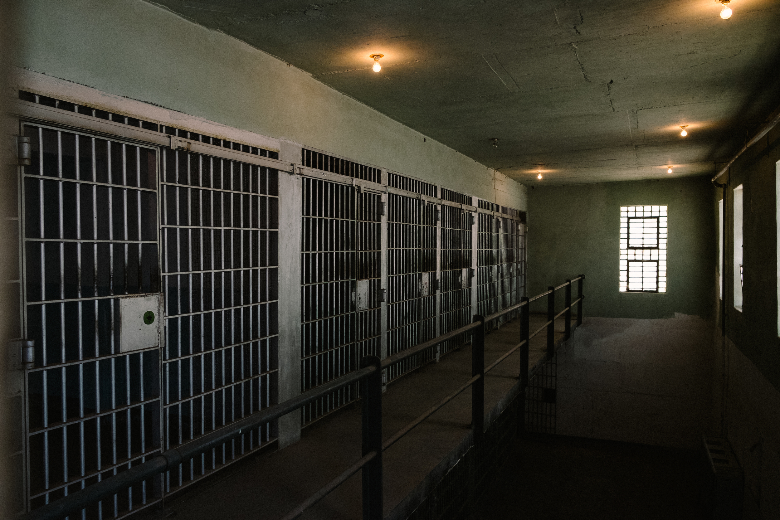 Despite the age of the exterior, parts of the prison were modernized as the prison was used until the early 1970s.