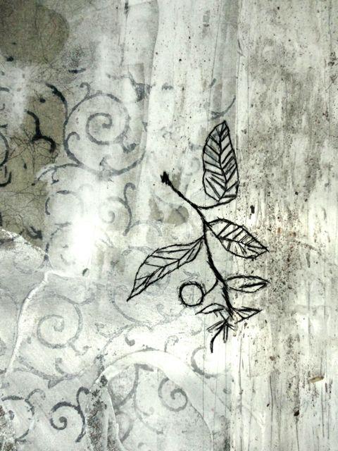 Thread Poem #10-Flora detail