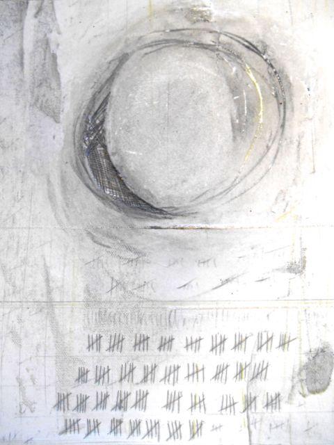 Thread Poem #12- Diligence detail