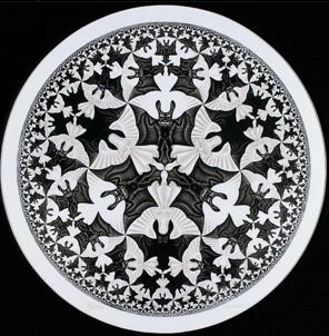 Radial - MC Escher
