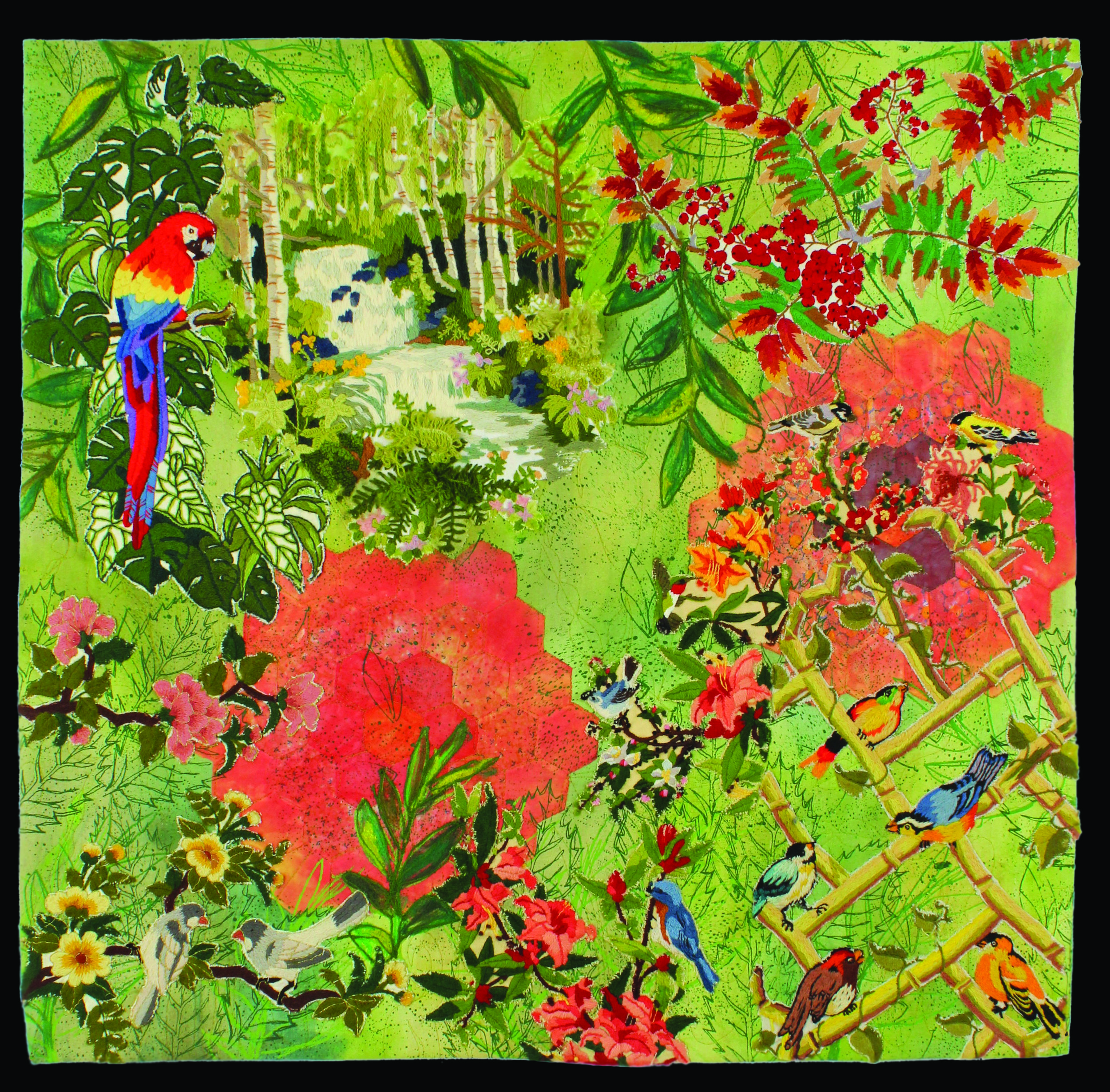 Grandmother Matisse's Flower Garden