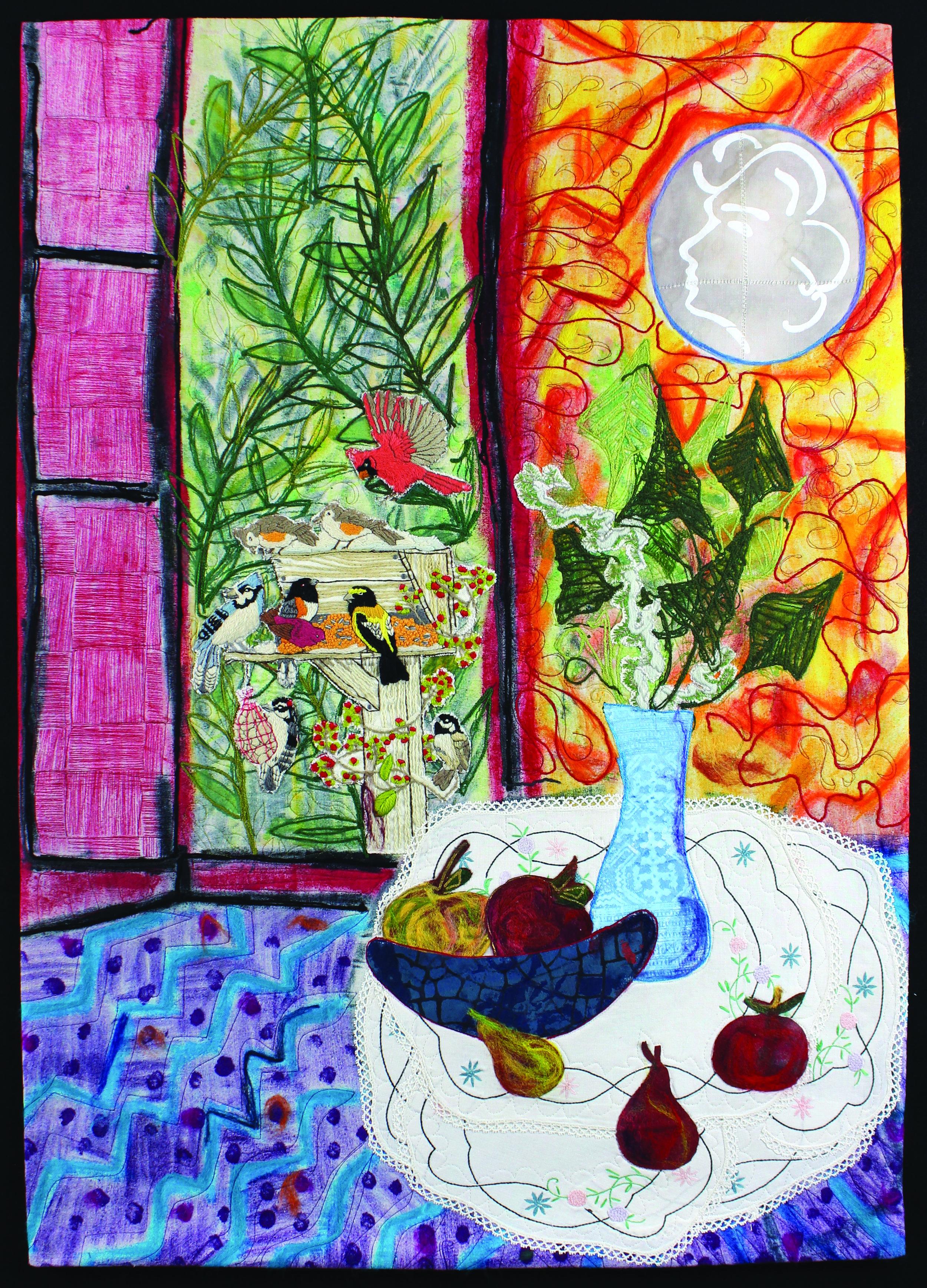 Matisse's Bird Feeder