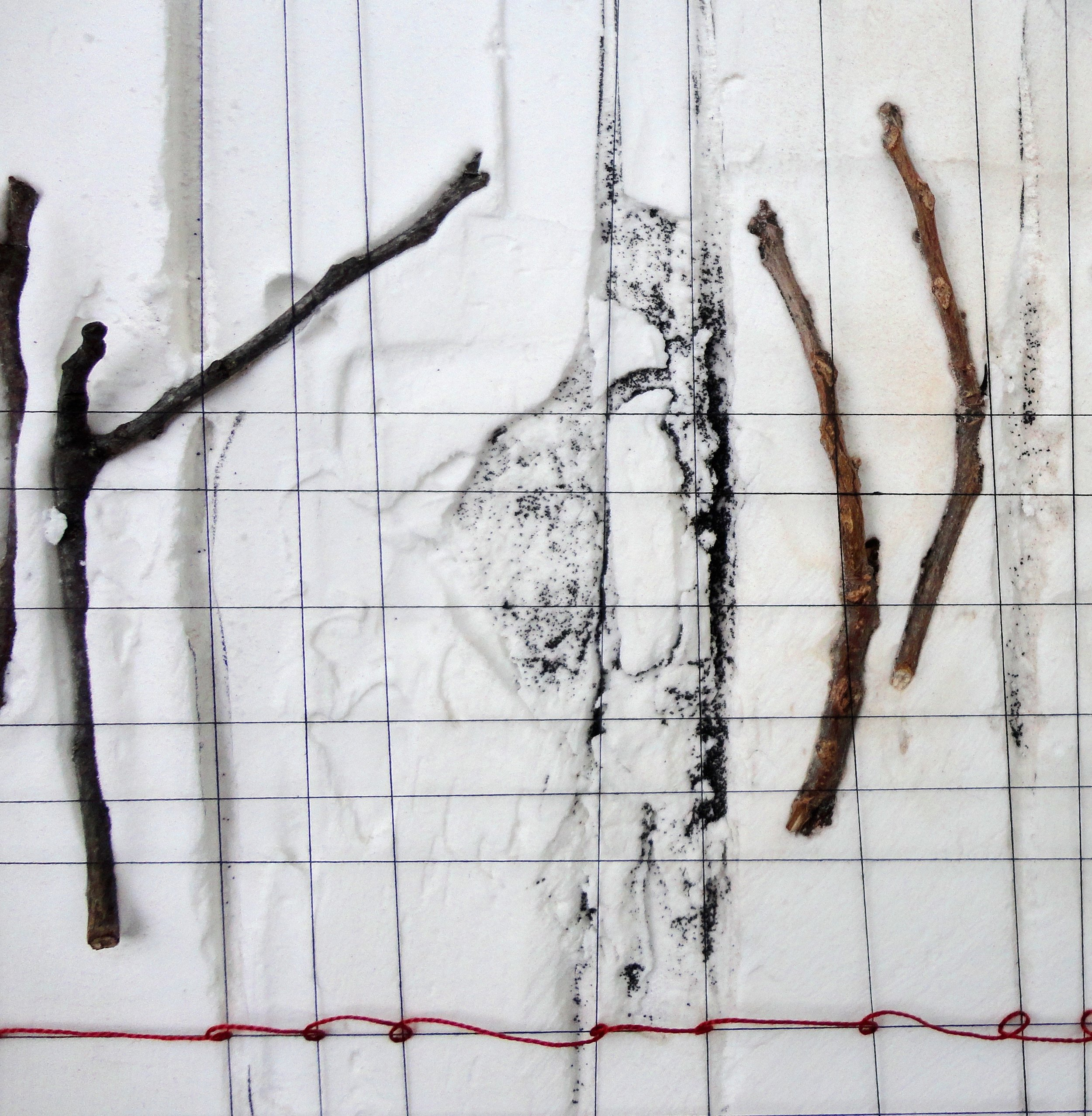 Untitled (Sticks) - Detail