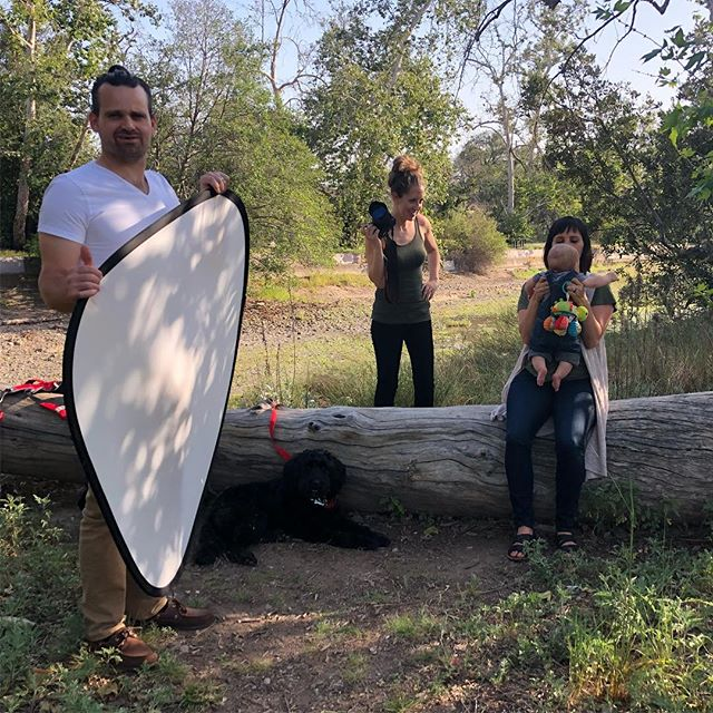 Always fun hanging out with @chrisandjennphotos and this time the family doubled in size. #whenyourweddingphotographerisyourfriend #wishwelivedcloser