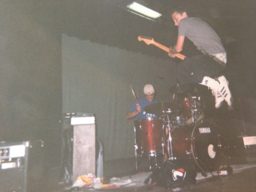 TJ & Mikey circa year 2000...