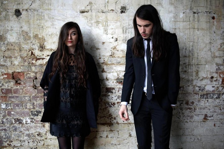 """     Hurting""        An out-take from Cults' 2013 album    Static."