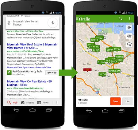 Google App Indexing   Source