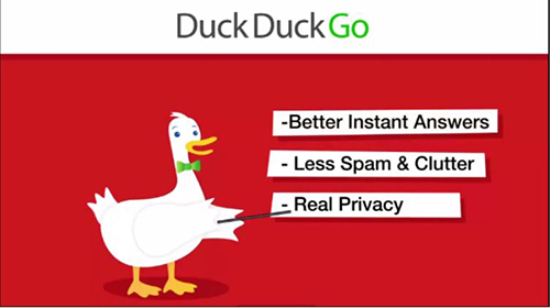 Duckduckgo private search engine   Source