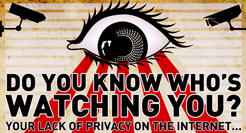 Scary Facebook privacy and internet privacy concerns.   Source