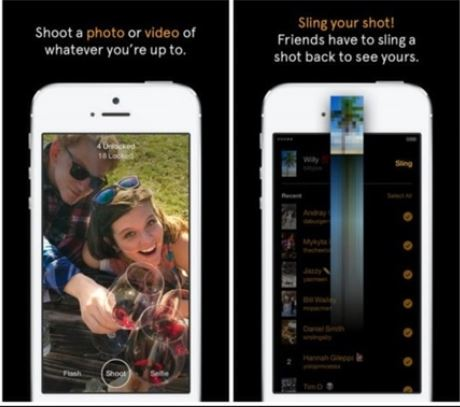 Facebook slingshot - the Snapchat competitor.   Source