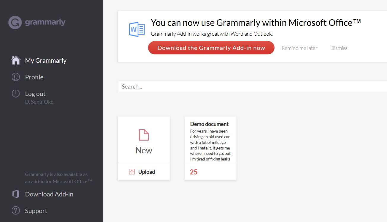 Grammarly Review Learn How To Use Grammarly Tips Dashboard   Source