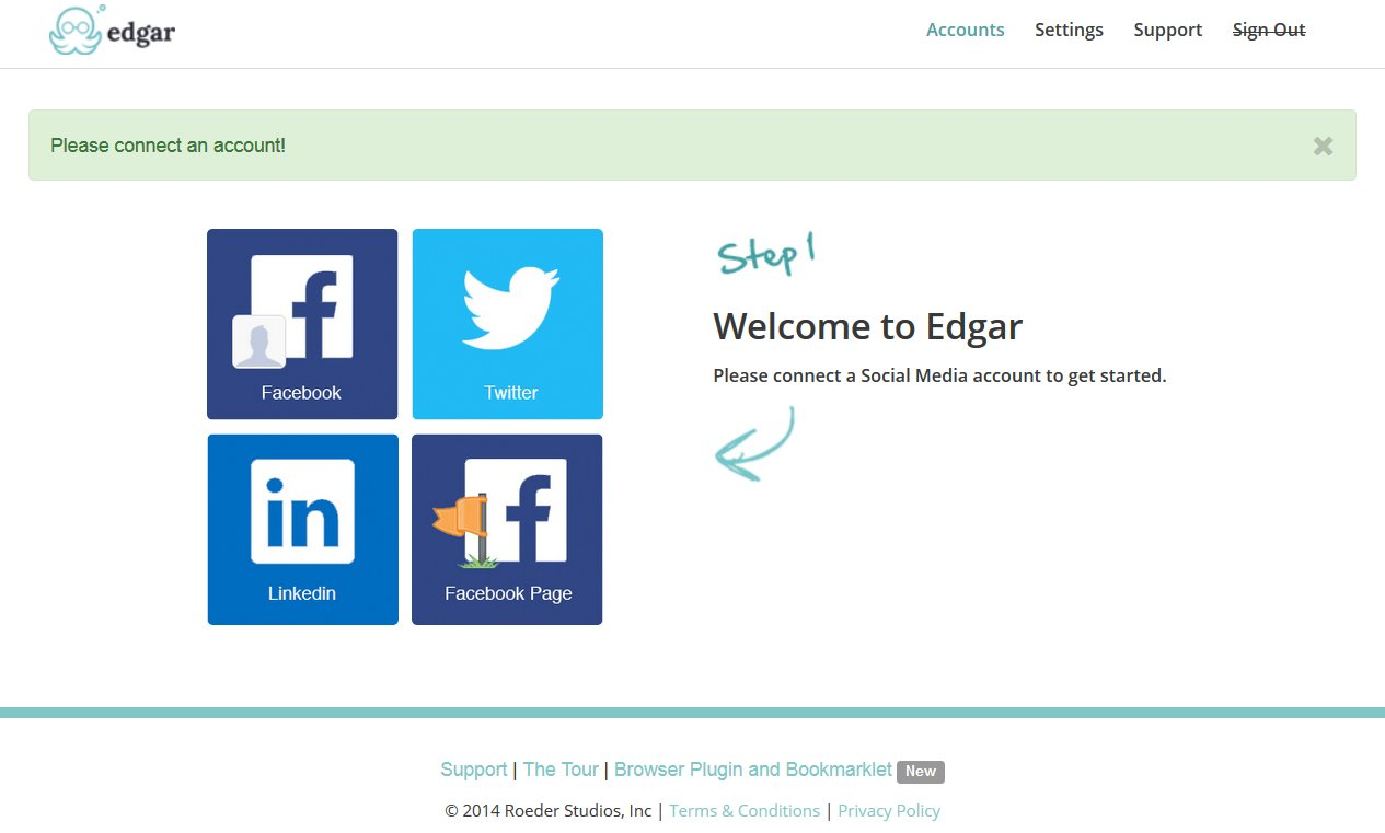 Meet Edgar Review Connect Social Accounts   Source