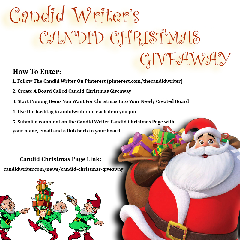 Santa Claus Candid Christmas Giveaway   Source