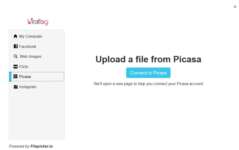 Viraltag Review And Viraltag Tips Upload Picasa   Source