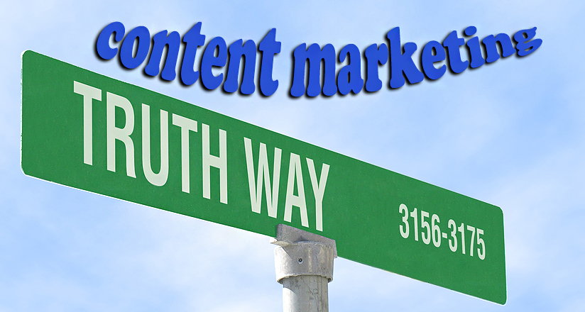 The Truth Content Marketing Leaders Tell The Truth   Source