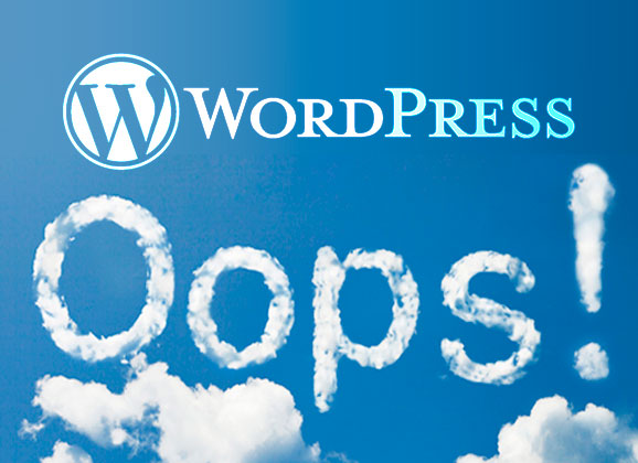 I Made A Mistake Wordpress Mistakes   Source