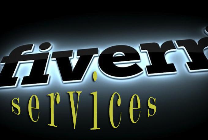 Fiverr Services   Source