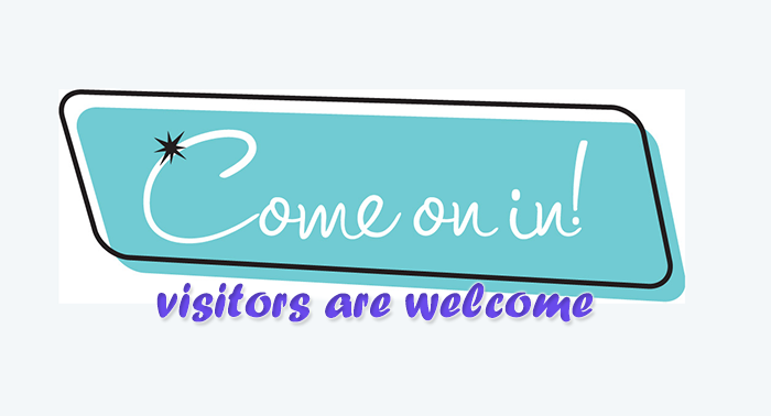 Come On In Welcome Visitors   Source