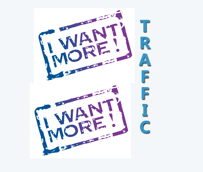 I Want More Blog Traffic Increase Traffic   Source