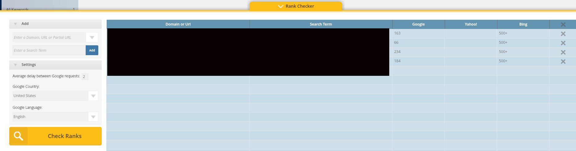 Long Tail Pro Keyword Ranking Checker   Source