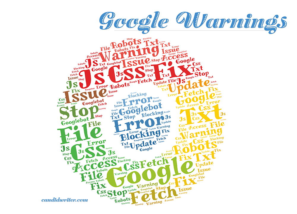 Google And Googlebot CSS JS Error Warnings   Source