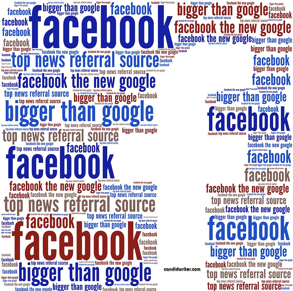 Top News Referral Source Facebook Over Google   Source