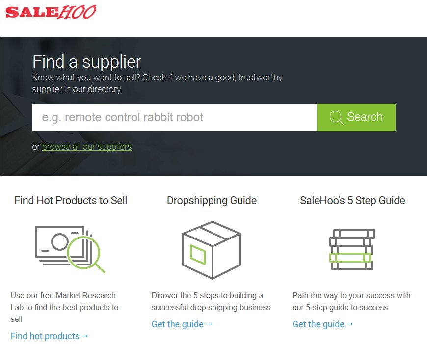 Salehoo Review For Emerging Ecommerce Website Bloggers Find Products   Source
