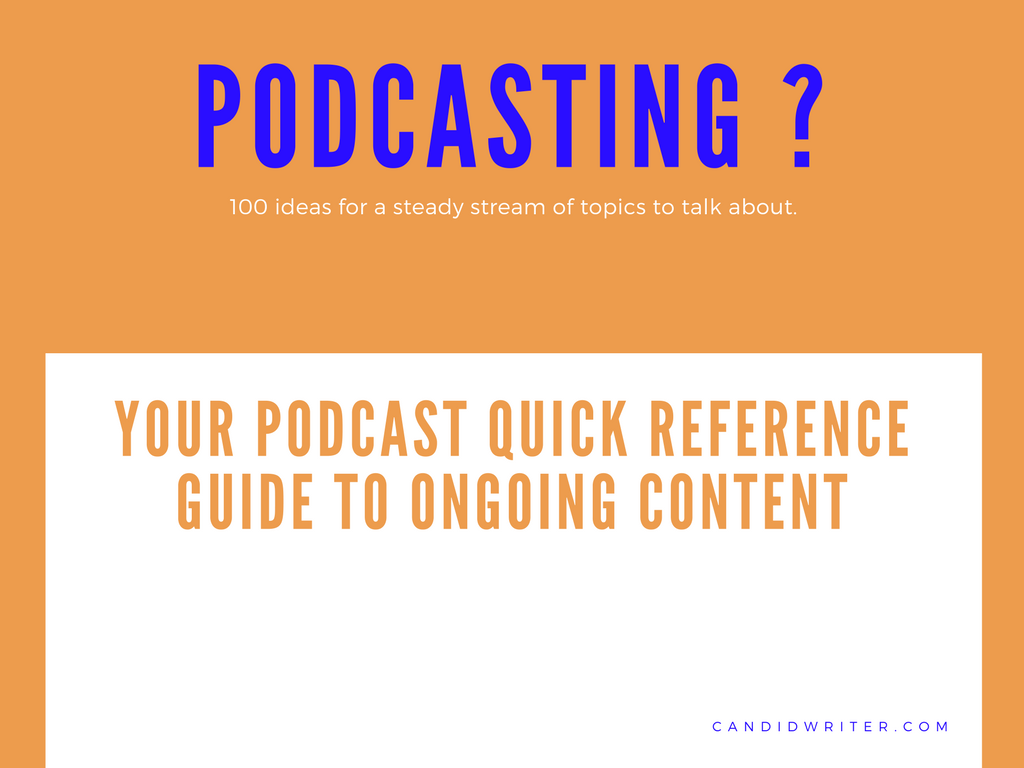 Podcast Ideas And Blog Topic Ideas For Content   Source