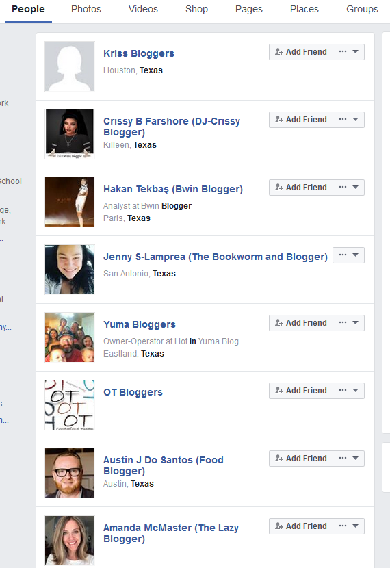 People Using Facebook Graph Search Advanced   Source