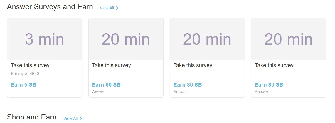 Swagbucks Answer Surveys   Source