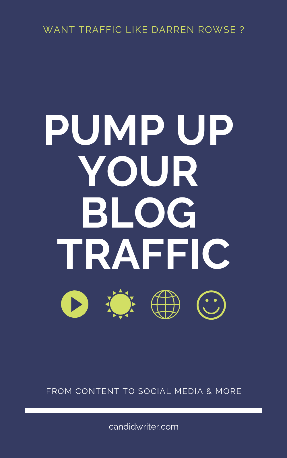 Blog Traffic Like Darren Rowse   Source