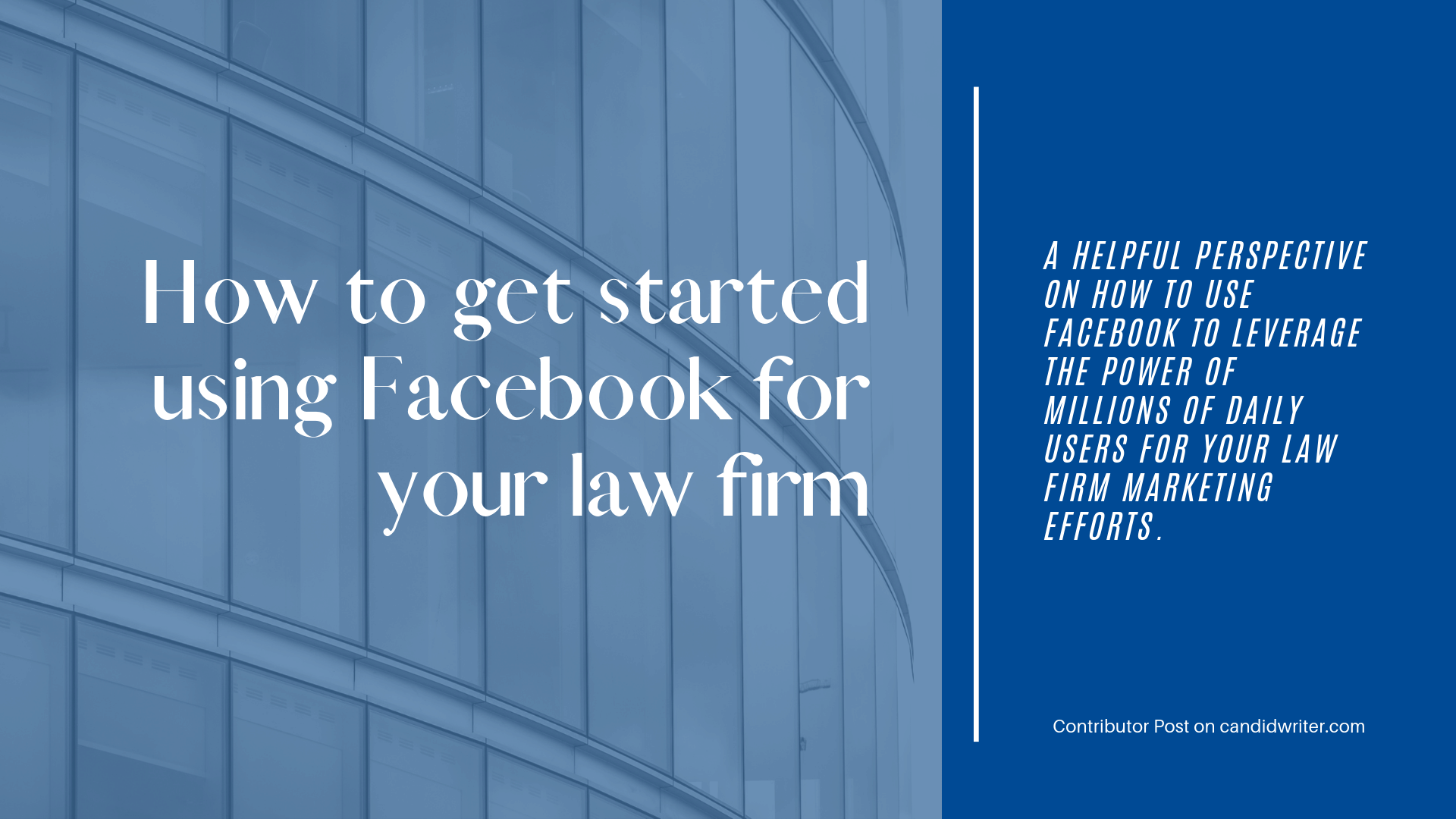 Oh Law Firm >> Oh Boy Surprisingly Helpful Insight To Using Facebook For