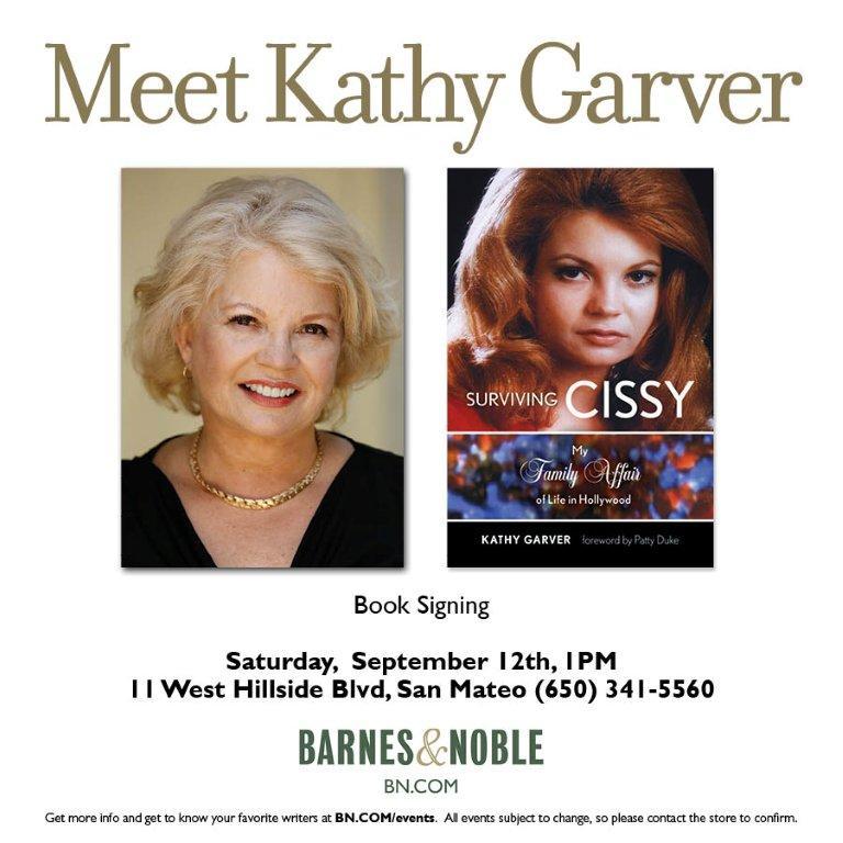 Book Signings — Kathy Garver
