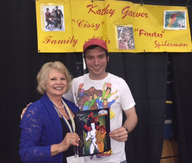 With David Ciccariella - Firestar fan  and collector