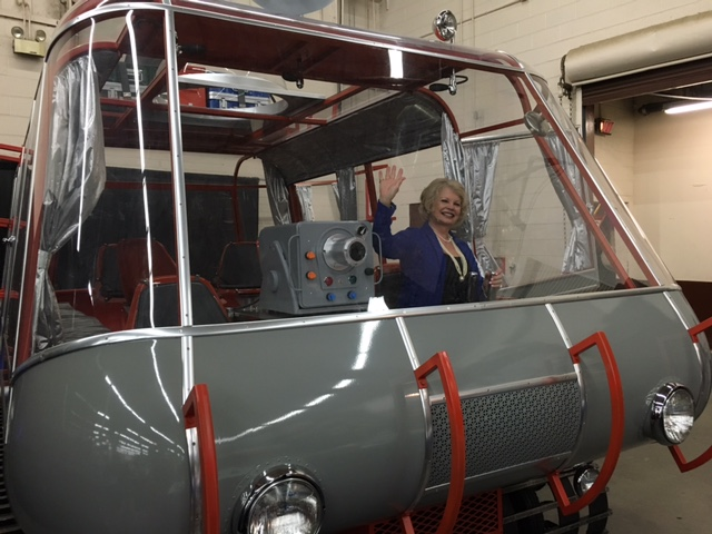 Riding In Lost in  Space Chariot replica
