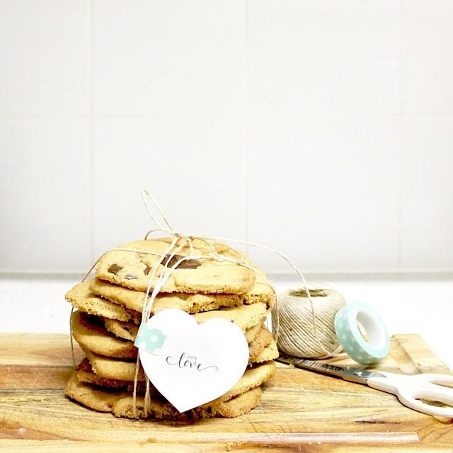 R E C I P E  >> Made with love. My favourite choc chip cookie recipe.