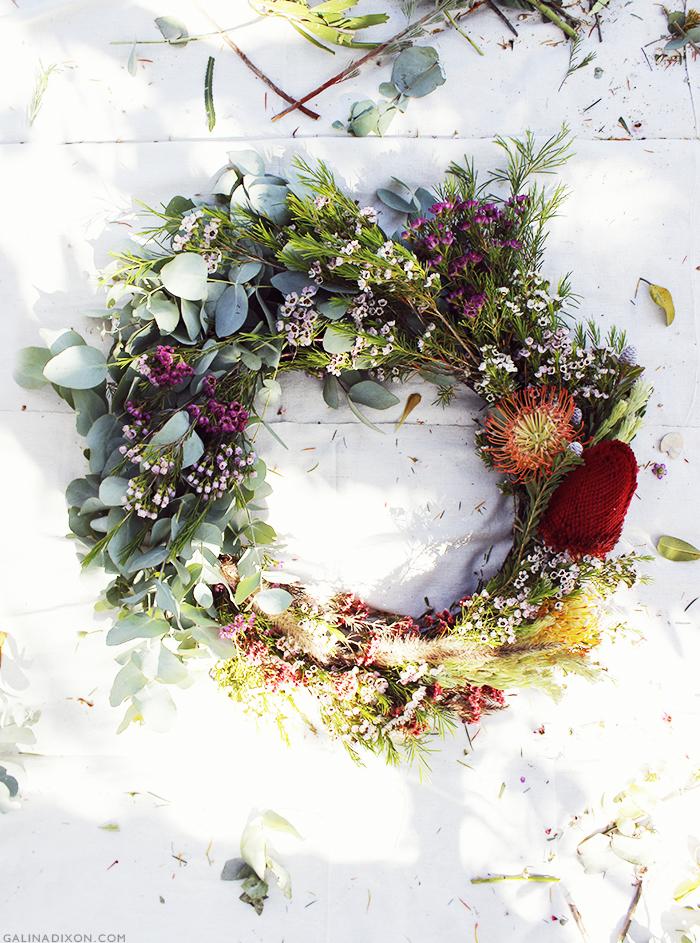 Wreath Making Gathering | GalinaLovesBlog© 1