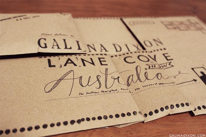 Post-a-Parcel - Galina Loves© 6