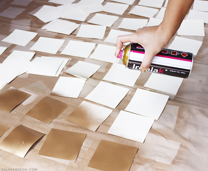 DIY Paper Christmas Tree - GalinaLovesBlog© 7